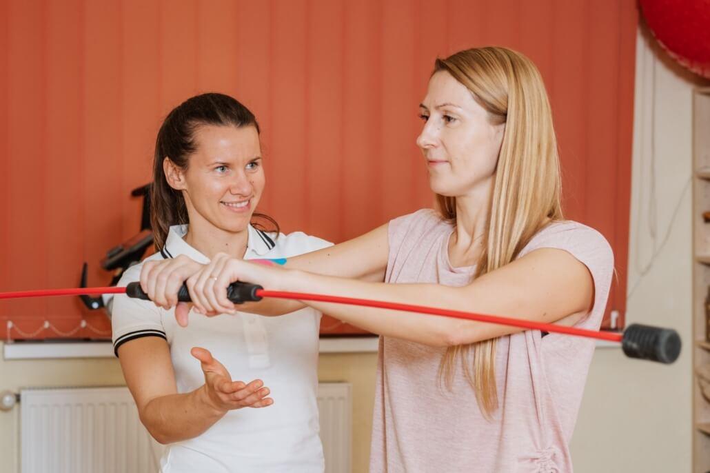 Spordifüsioteraapia sessioon