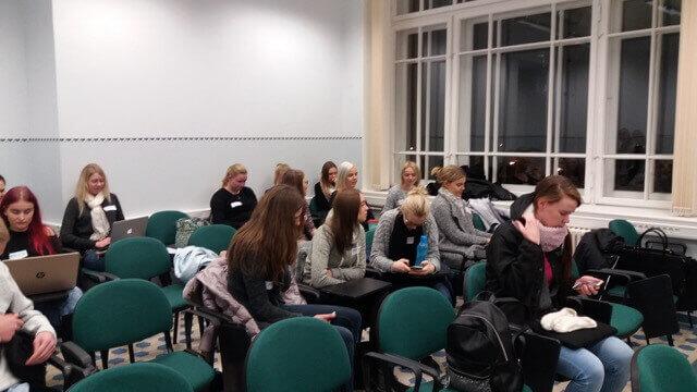 Tartu Ülikooli ja Tartu Tervishoiu Kõrgkooli tudengid